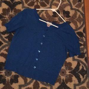 Cute little blue sweater